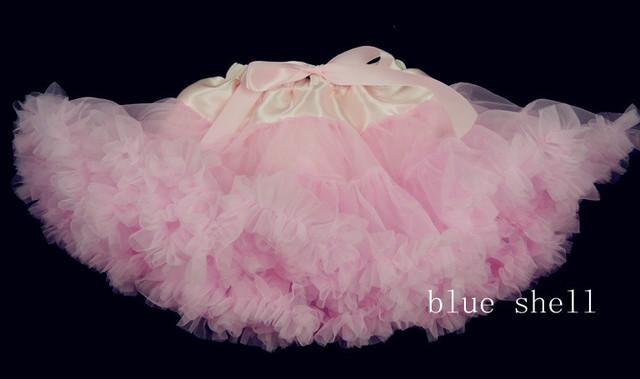WHOLE High Quality Infant Tutu Skirt Big Bowknot Lace Rosy Tutu Pettiskirt Age Baby:1-8Y Fluffy Girl Party Tutu skirt