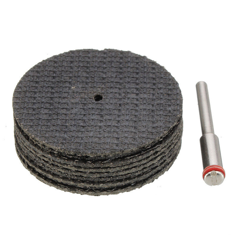 38mm Fiberglass Reinforced Cut Off Wheel Abrasive Disc Suit for Dremel Tool With Drill Adapter<br><br>Aliexpress