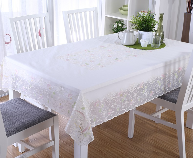 PVC gold embossed decorative overlay table cloth(China (Mainland))