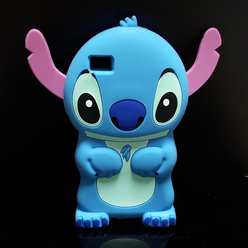 NEW Cute 3D Cartoon Stich Soft Silicone Back Cover Lilo Stitch Case ...