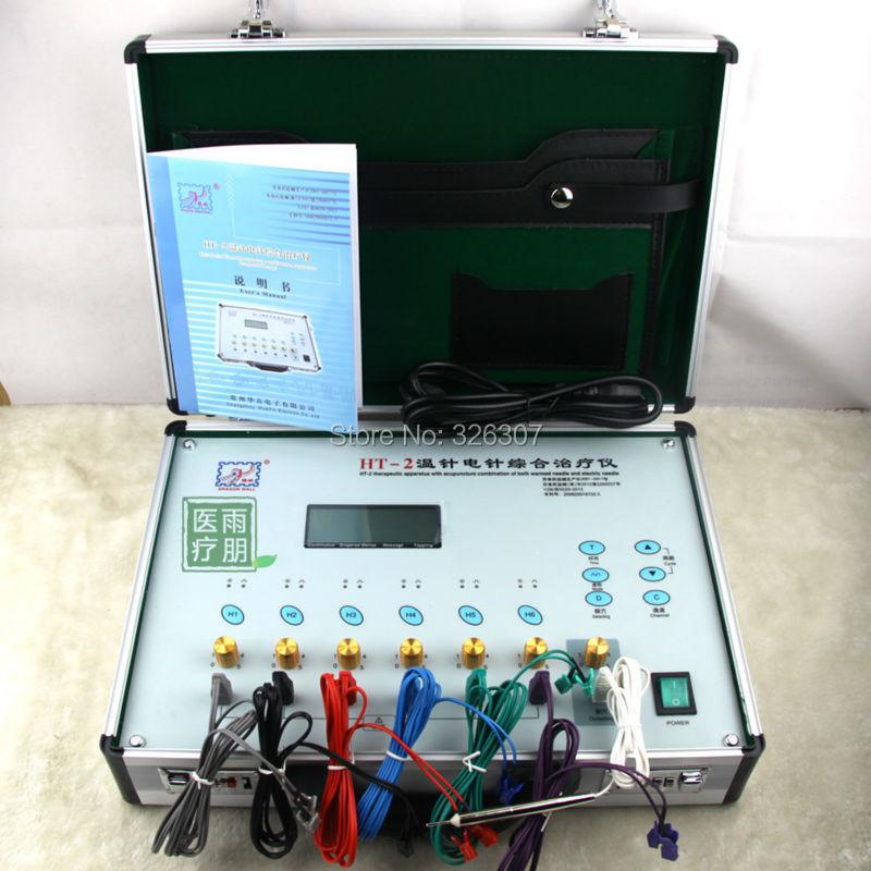Здесь можно купить  HT-2 Therapeutical Apparatus of Warmed Acupuncture electric heating temperature gauge needle piquada instrument   Красота и здоровье