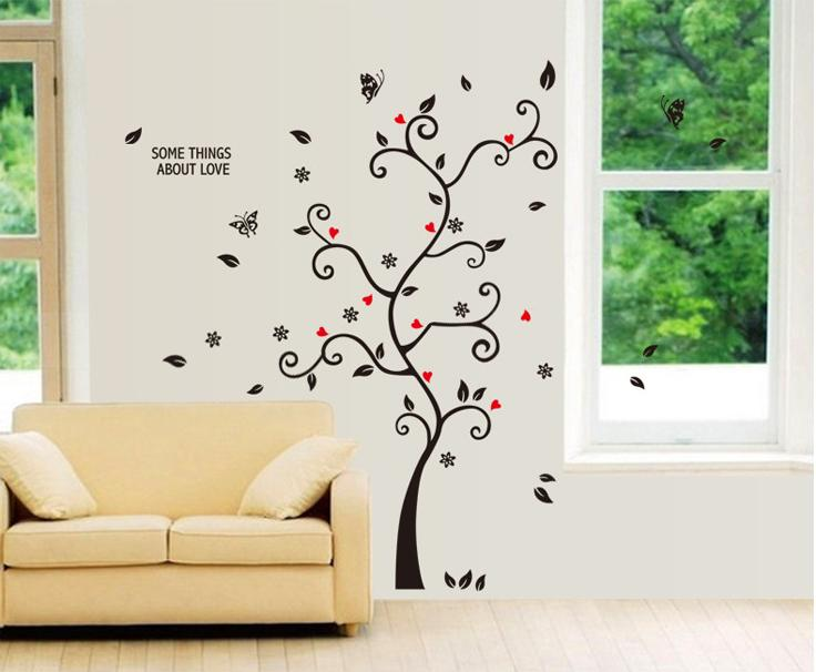 Room Photo Frame Decoration Family Tree Wall Decal Sticker Poster Stickers Wallpaper Kids Photoframe ArtA Y6031 - dansy's store