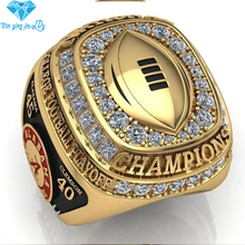 2016 New Arrival 18k gold plated ring men that 2015 Alabama NCAA National Replica Championship mens Rings sports jewelry(China (Mainland))