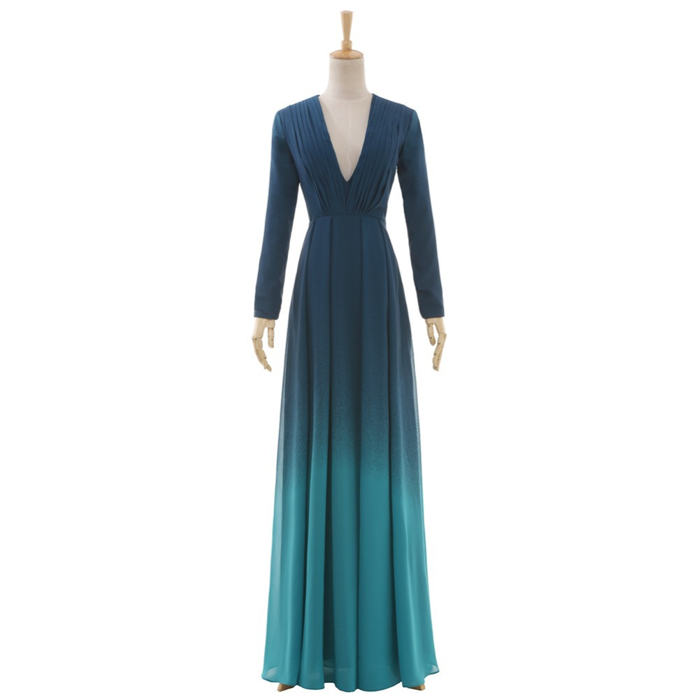 cheap plus size long sleeve prom dresses images