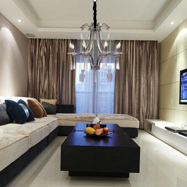 110 240V Free Shipping Art Deco chandelier crystal D55cm ...