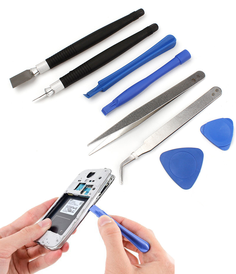 1SET 16 in 1 Mobile Phone Cellphone Opening Repair Tools Screwdrivers Kit Precision For iPhone Samsung HTC Tablet Hand Tools