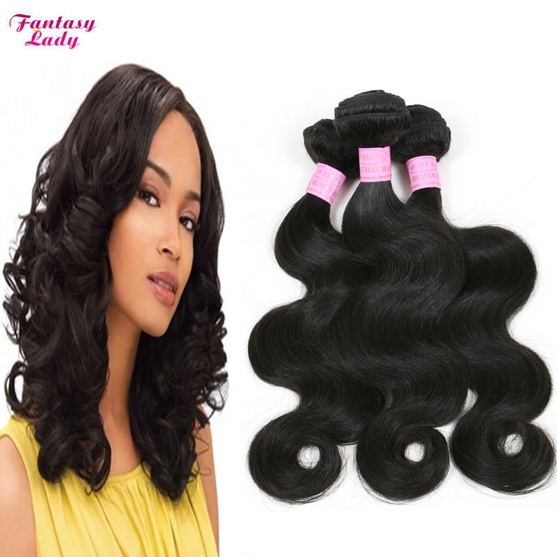 Indian Virgin Hair Body Wave cheveux bresilien 3pcs Natural Hair Extension 7A Unprocessed Indian Virgin Hair Weave Body Wave<br><br>Aliexpress