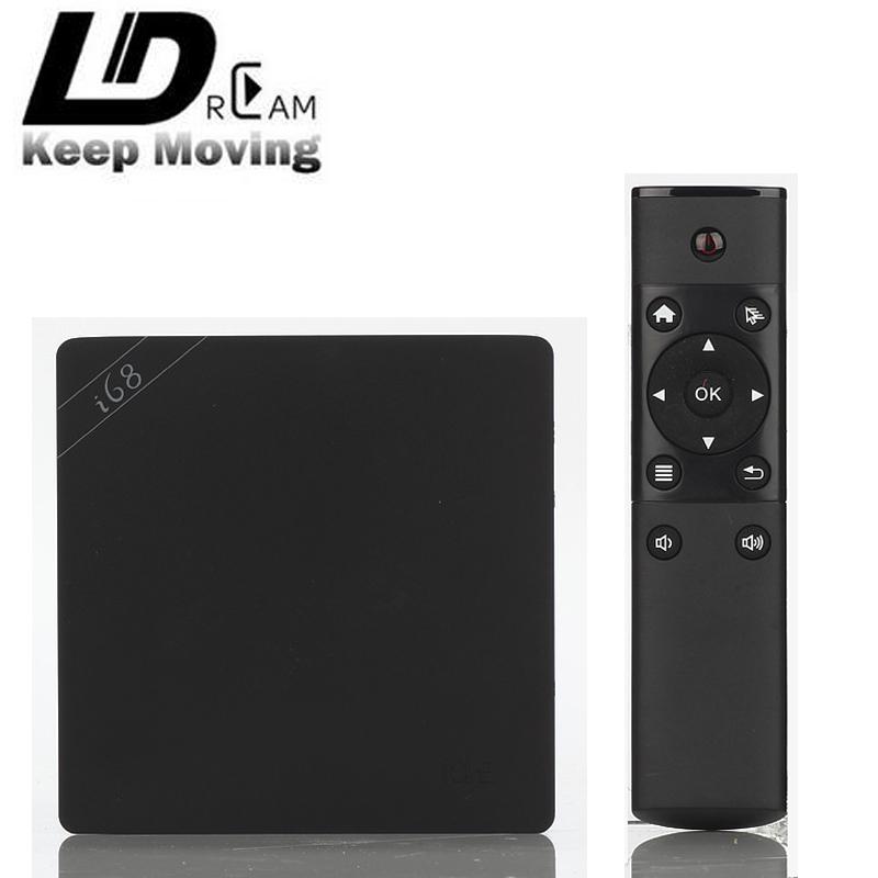 Best price i68 Android 5.1 Smart TV BOX RK3368 64bits Octa core 2GB/16GB BT4.0 2.4G/5GHz Dual Wifi Gigabit Lan 4K HDMI 2.0 KODI(China (Mainland))