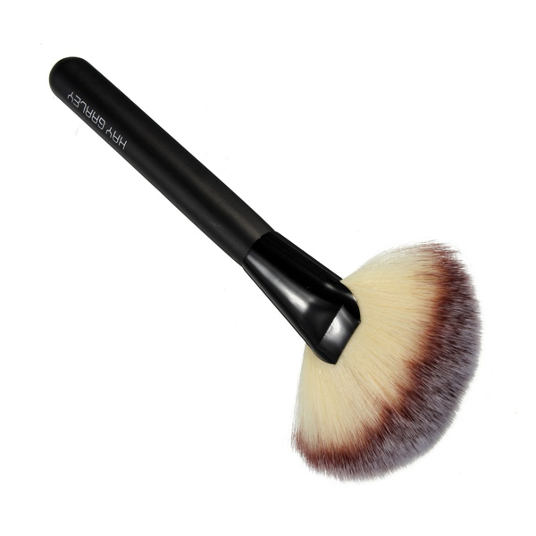 Professioanl Soft Hair Flat Contour Brushes Foundation Powder Brush Blend Blush Makeup Beauty Comestic Tools Portable(China (Mainland))