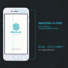 For iphone 7 Tempered Glass Nillkin Amazing H PRO Anti-Explosion Screen Protector For iphone7 pro prime retail package free ship