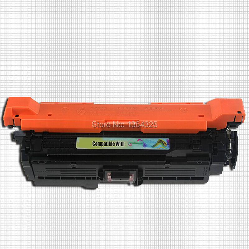 4PC Lot Compatible For HP Color LaserJet CP5525 toner cartridge For HP 650A CE270A CE271A CE272A