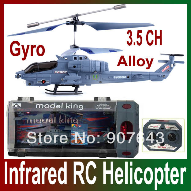 3.5CH 3.5-Channel viper copter GYRO military force model king Infrared remote control rc helicopter Toy Foy gifts for child(China (Mainland))