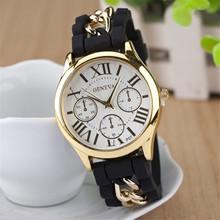 Envío gratis relogio masculino reloj de cuarzo, correa del silicón relojes mujer. romana digital de reloj de la mujer relojes de ginebra