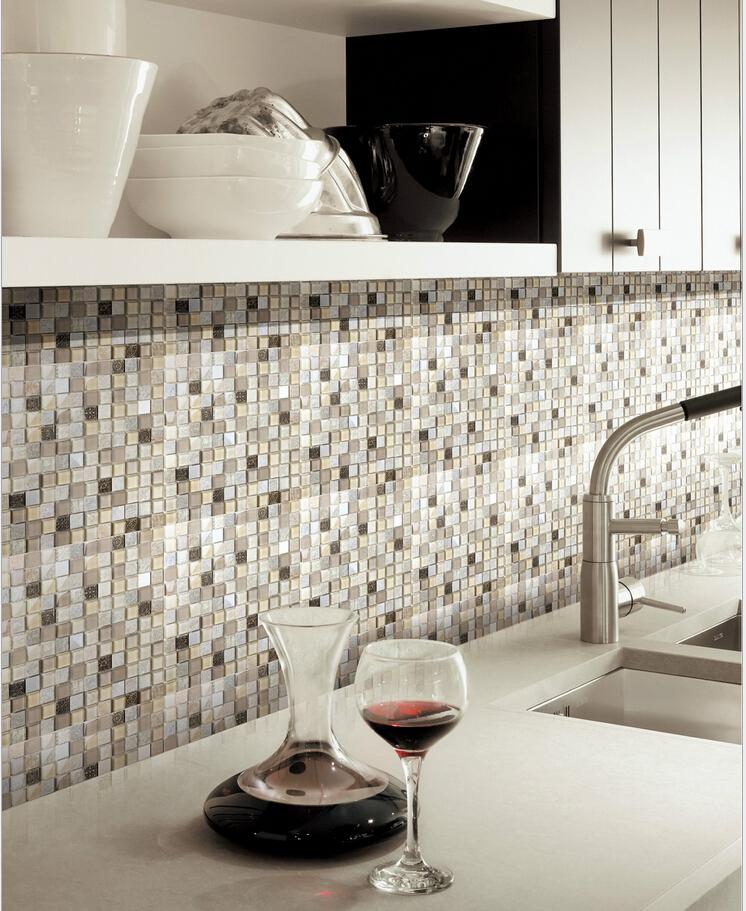 Landelijk keuken tegels - Imitatie natuursteen muur tegel ...
