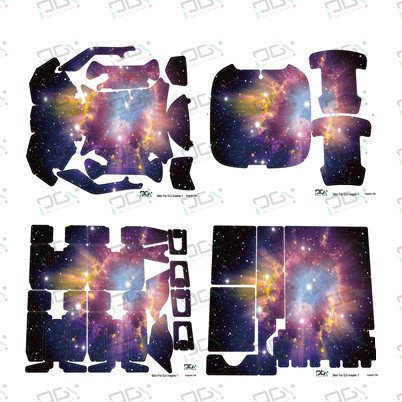 PGY Starry Sky B Skin waterproof UV decals stickers for DJI inspire1 FPV Quadcopter drone RC Part accessories set Newly Hot