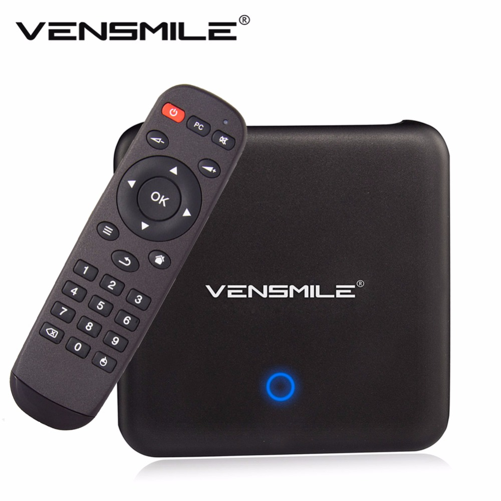 In-stock Vensmile U1 Remix S905 Remix 2.0 OS TV BOX Amlogic S905 Quad-Core 2G/32G HD 1080P Wifi Bluetooth support DLNA Miracast(China (Mainland))