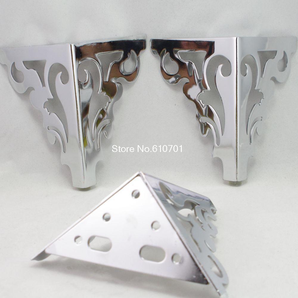 Set Metal Furniture Cabinet Legs Bed Tea Table Chair Sofa