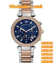 Moda relojes MK6138 MK6139 MK6140 MK6141 MK6119 MK6169 + caja original + wholesale y retail + free