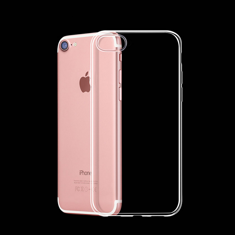0.3mm Ultra Thin Slim Crystal Soft Silicon Gel Case Transparent Phone Cover For iPhone 7 7 Plus 6 6S Plus 5 5s SE 4 4S(China (Mainland))