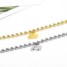 2019 браслет из нержавеющей стали, браслет для влюбленных, леди, животное, кошка, лошадь, слон, бусины, браслет, браслет, шарм, женский, серебрян...(China)