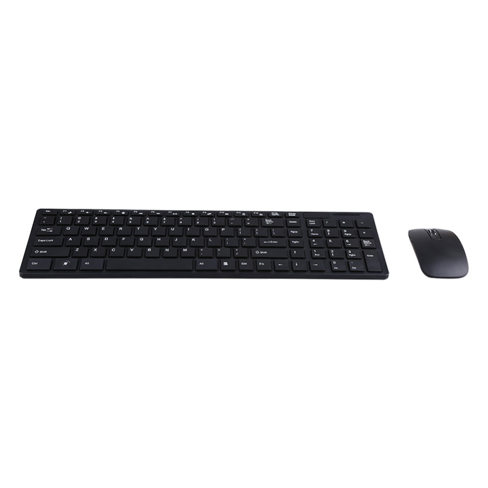 2.4G Optical Wireless Keyboard and Mouse Mice USB Receiver Combo Kit for MAC PC Computer