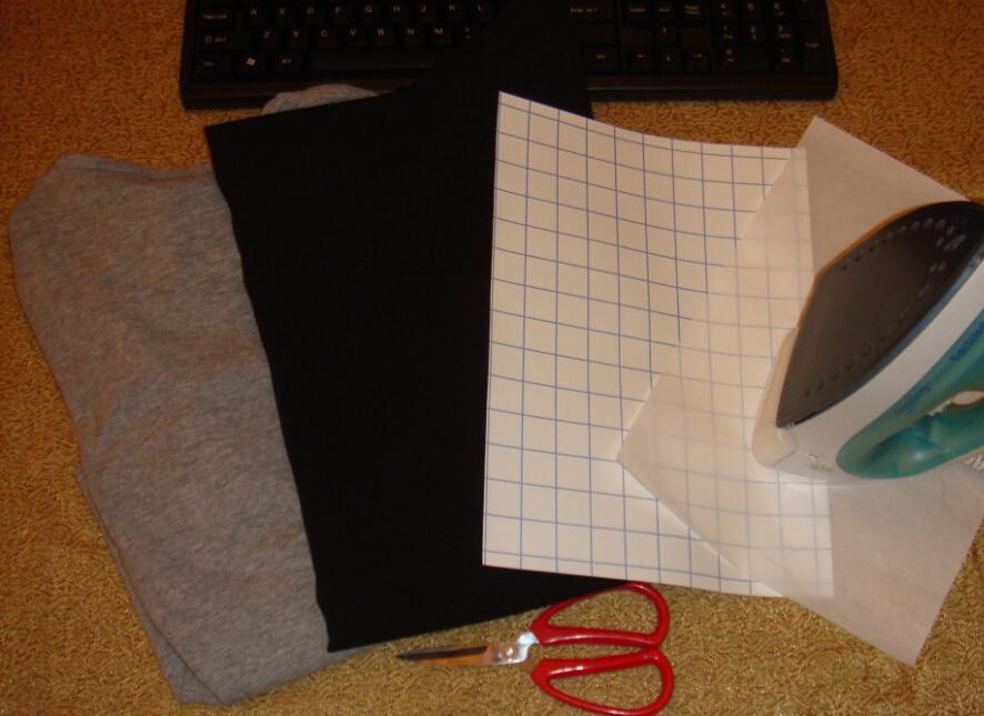 transfert sur tee shirt paper mache crafts. Black Bedroom Furniture Sets. Home Design Ideas