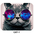 New Style HOT Selling Cute Cat Picture Anti Slip Laptop PC Mice Pad Mat Mouse pads