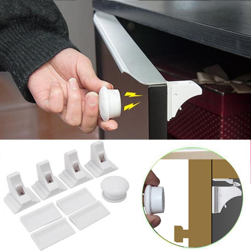 Online kaufen gro handel versteckte magnetverschluss aus china versteckte magnetverschluss - Schrank schutz baby ...
