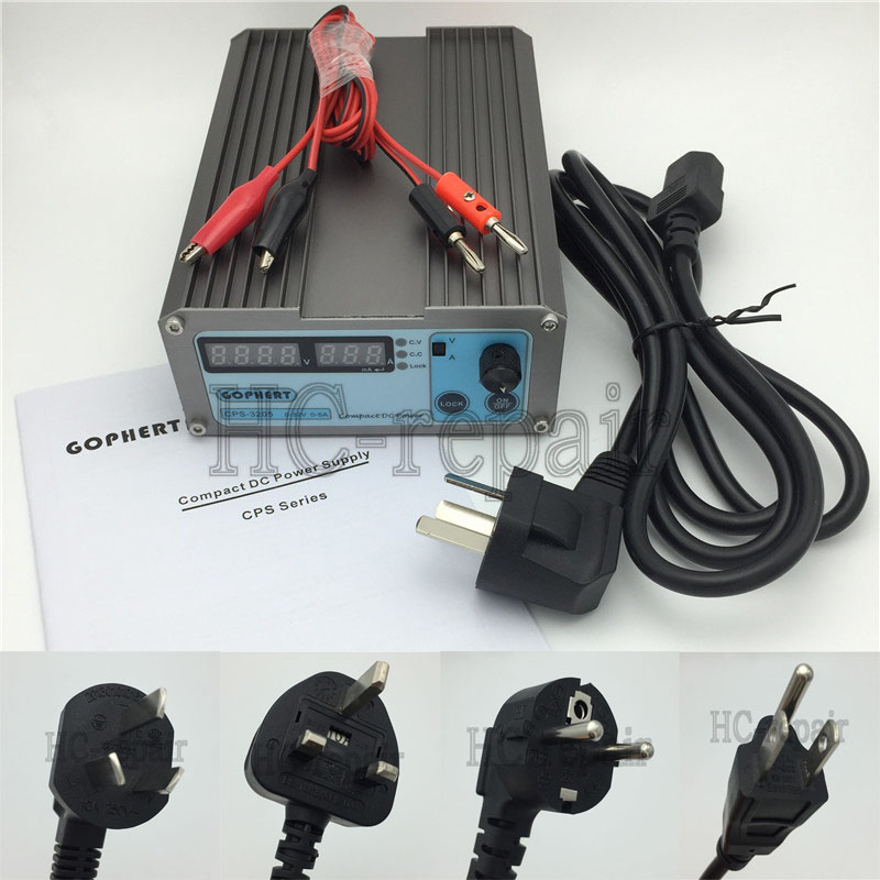 Гаджет  Mini 0-30V-32V Adjustable DC Switching Power Supply 5A 160W SMPS Switchable AC 110V (95V-132V) / 220V (198V-264V) input CPS-3205 None Электротехническое оборудование и материалы