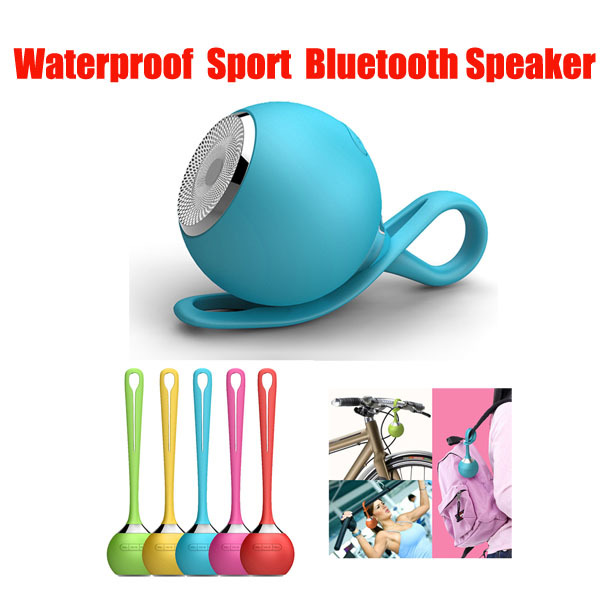 Portable Mini Wireless Bluetooth Speaker Waterproof Silicone Audio Mp3 Player Music USB Subwoofer Outdoor Sports Travel Speakers(China (Mainland))