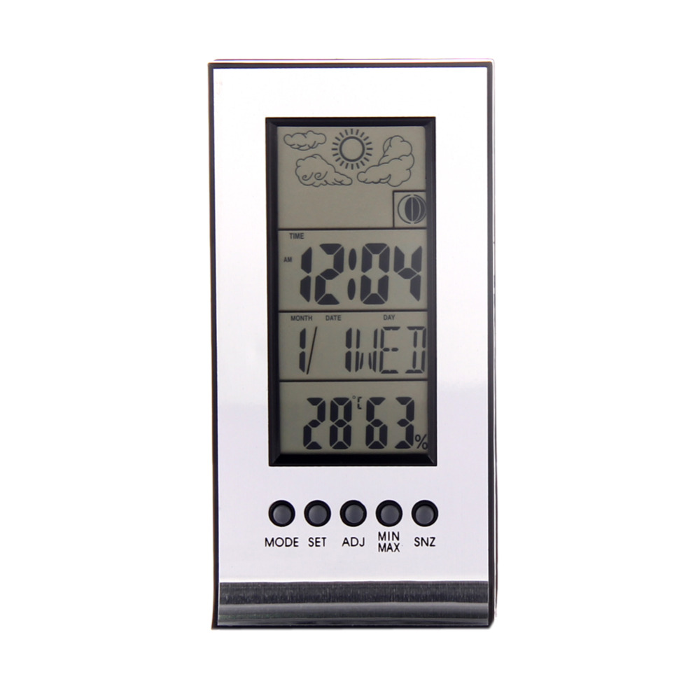 Alarm Clock Snooze Forecast Calendar Wireless Weather Station Indoor Outdoor(China (Mainland))