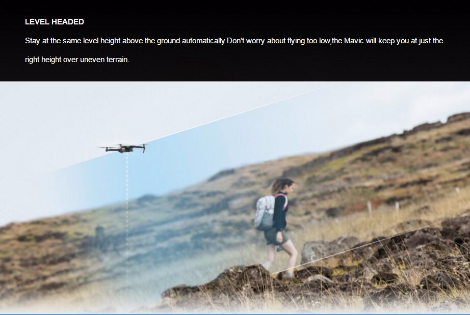 [pre-order]DJI Mavic Pro with Obstacle Avoidance System GPS 4K Camera Foldable Arm RC Quadcopter (Fly more combo)