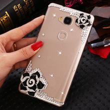 Buy 07 Luxury 3D flower bling Crystal diamond Mobile phone Shell Back Cover soft Case ZTE Blade V6 Plus for $3.63 in AliExpress store