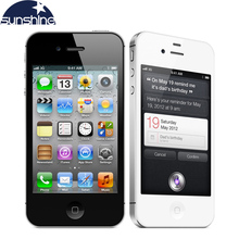 iPhone4s Original Unlocked Apple iPhone 4S Mobile Phone 3.5″ IPS Smartphone 512MB RAM 16GB ROM Used Phone 3G GPS iOS Cell Phones
