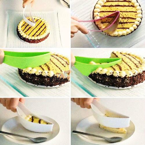 Cake cutting knife, kitchen utensils, plastic knife, baking tool, bread slice, slice cutter(China (Mainland))