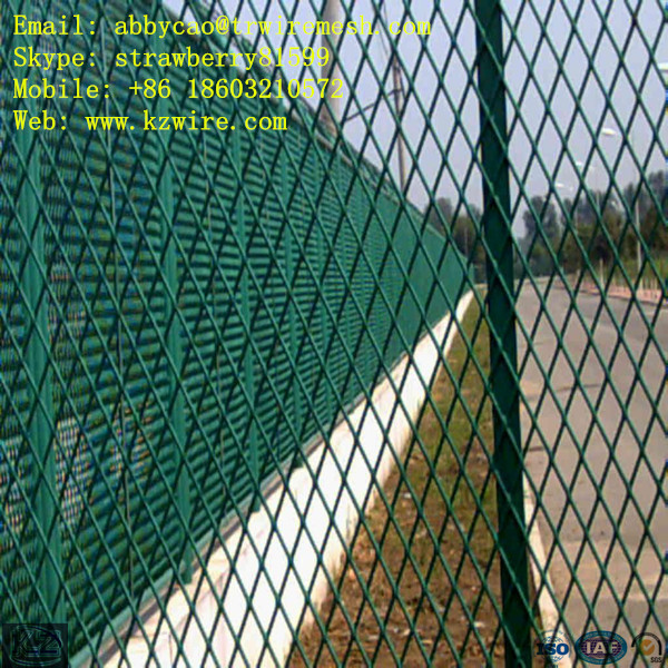 Perforated Metal Mesh Fence Metal Expanded Wire Mesh Fence