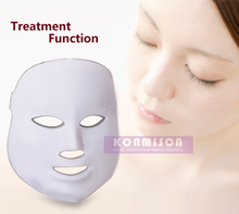 Photon LED Facial Mask Skin PDT mask Rejuvenation Beauty Therapy 3 Colors Light for home use