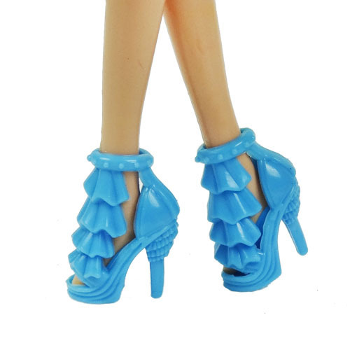 New handmade 2014 beautiful doll shoes , for barbie doll dress dress the best Christmas gift a22