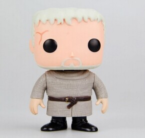 NEW 2014 Genuine FUNKO POP 10cm Game of Thrones HODOR action figure Bobble Head Q Edition new box for Car Decoration(China (Mainland))