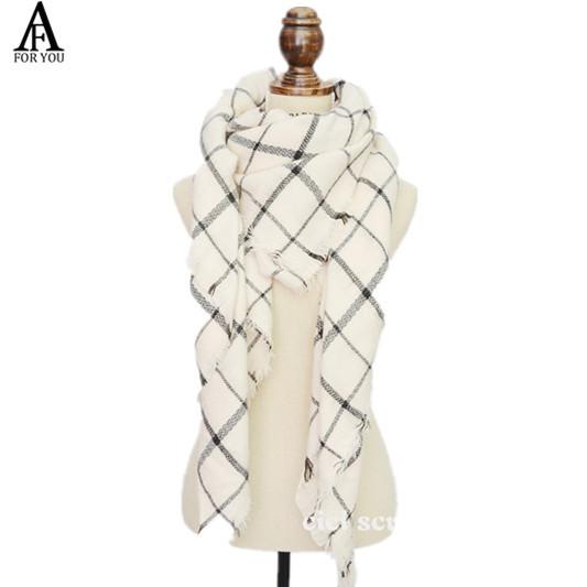 2015 desigual cashmere wool scarf bufanda shawl pashmina bufandas Spain Desigual light pink Plaid women winter scarves(China (Mainland))