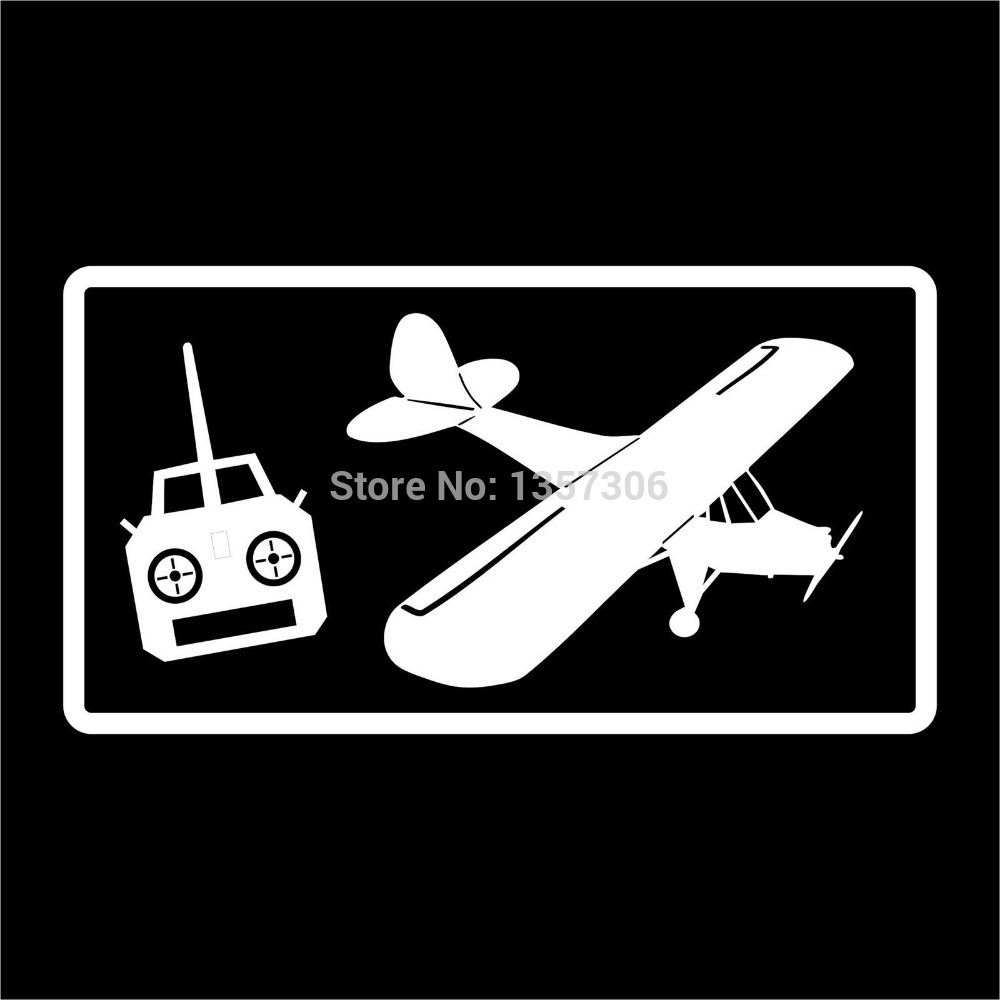 Wholesale 50 Pcs Lot Radio Control Airplane Rc Pilot Vinyl