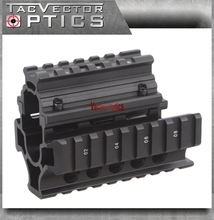 Buy Vector Optics Tactical Mini Draco AK Pistol RIS Handguard Quad Picatinny Rail Mount Short Free Cover Guards Gun Accessories for $34.90 in AliExpress store