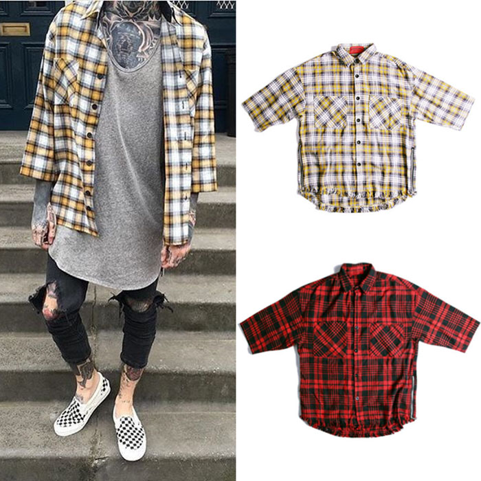 british style mens shirts fashion 2016 spring casual dress china font b tartan b font clothing