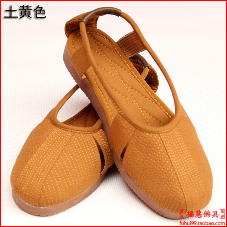 Buddhism Suppliers Unisex Monk Shoes Hollow Out Cotton Flats Meditation Lay Shoes Shaolin Rohan Shoes Martial Arts Zen Shoes(China (Mainland))
