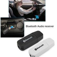 Precio al por mayor Universal USB Streaming A2DP Inalámbrica 3.5 Adaptador de Audio Receptor de Música Bluetooth AUX Coche Para Teléfono MP3 Altavoz