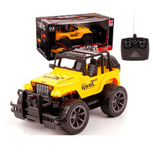 Best price! 1:24 Mini Radio Remote Control Simulated Cross-Country RC Car Jeep Remote Control Automobile Race Car Free Shipping
