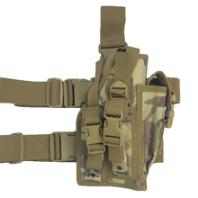 Buy Top Military Tactical Adjustable Belt Pistol Drop Leg Thigh Gun Holster GL Holster Pouch Magazine Pocket for $13.97 in AliExpress store