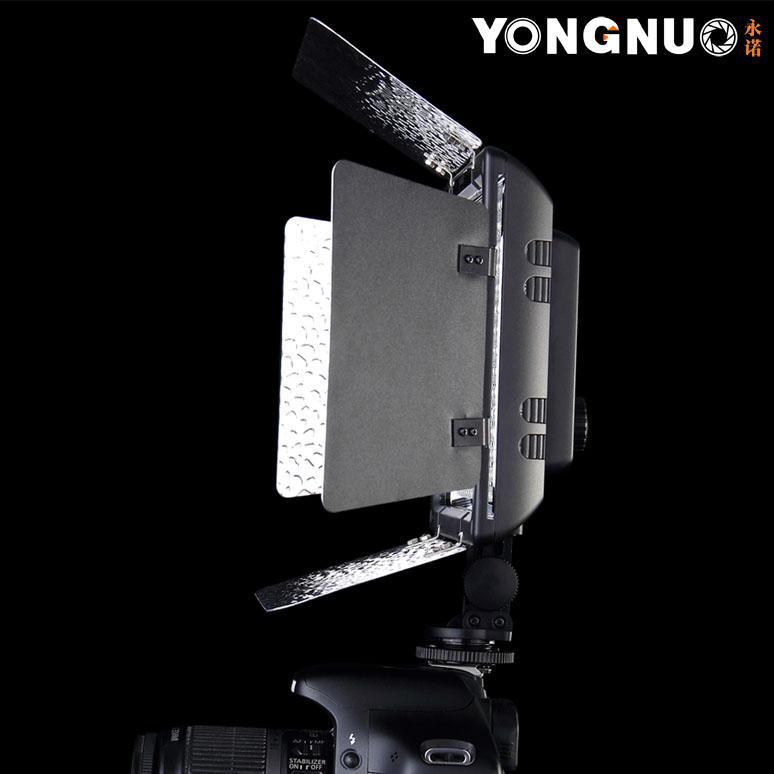 ถูก Yongnuo YN300 YN-300 300ชิ้นLEDไฟวิดีโอสตูดิโอแสงสำหรับCanonสำหรับกล้องNikonกล้องDv 18วัตต์2280lm 5500พัน300-LED
