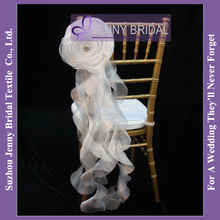 C181A New Hot sale fancy chiavari ruffled wedding chair cover(China (Mainland))