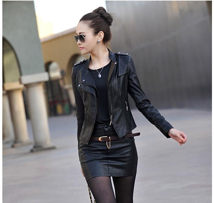 Женская одежда из кожи и замши XinRanNvZhuang XXXL 926 женская одежда из меха cool fashion saias s xxxl tctim06270001